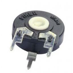 PIHER trimmer PT15 220ohm 0,25W vertical mounting