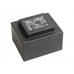 Printtransformator 10VA 2x7,5V 2x666mA