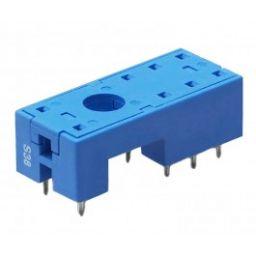 Printvoet voor dubbelpolig relais (REL3A - REL7)