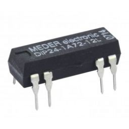 DIP/DIL Reedrelais 12V 1A 1000ohm SPST Normaal open