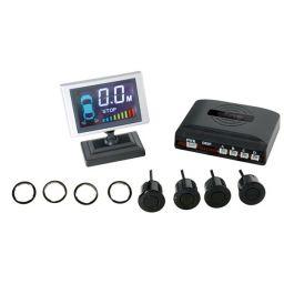 Achteruitrijradar met LCD-scherm en 4 sensors