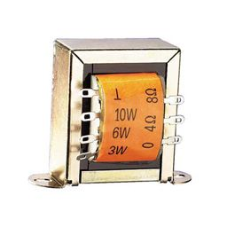 100V transformator voor luidsprekers in PA-systemen.