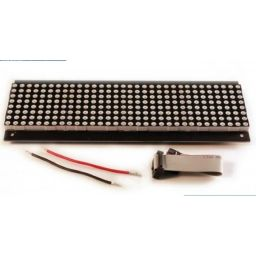 32x8 Red LED Dot Matrix Unit Board P7.62