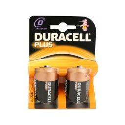 Duracel plus D  2pcs