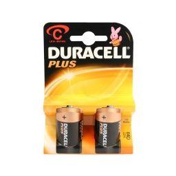 Duracel plus C  2pcs