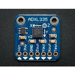 ADXL335 5V ready triple axis accelerometer (+-3g analog out)