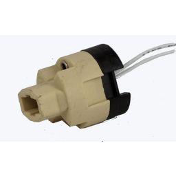 Halogeenfitting G9 0,5A -250V Met draad 140mm