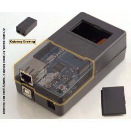 Box voor Arduino project met batterijcompartiment.