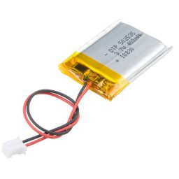 Lithium Ion polymer battery 3,7V 400mAh