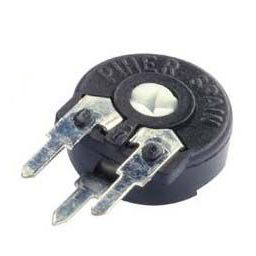 PIHER trimmer PT10 220ohm 0,15W vertical mounting