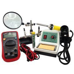 Starterspakket met soldeerstation & meettoestel