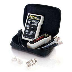 Eenvoudige LAN Kabel tester (RJ45, RJ11 & BNC)