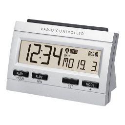 DCF-klok met ledachtergrondverlichting