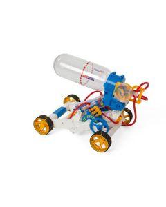 Auto met luchtmotor - Bouwkit