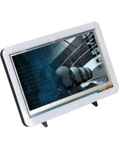 """Raspberry PI 7""""  LCD Touch Screen behuizing voor RPI4B"""