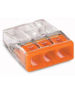 WAGO Lasdop 3-polig 0,5 … 2,5mm² 450V Orange