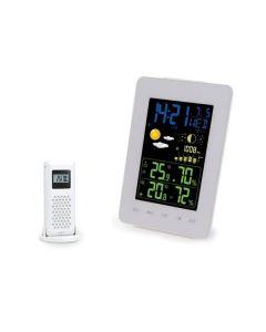 Draadloos DCF-weerstation met kleurendisplay - Thermometer & Hygrometer