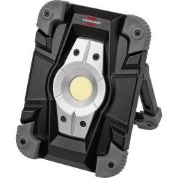 LED krachtstraler met accu IP54 10W met USB - 1GTR8