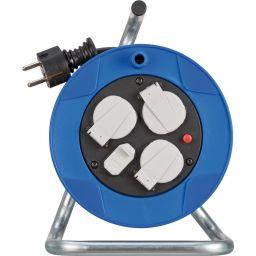 Kabelhaspel met 3 stopcontacten en 2 USB aansluitingen - 25 meter