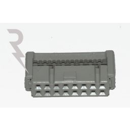 16-polige IDC connector voor flatcable - Socket - P2,54