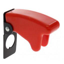 Beveiligingskap rood voor schakelaar 12mm