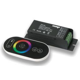 RF RGB-controller 12/24VDC met afstandsbediening 4A/kanaal
