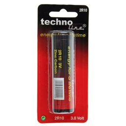Battery zinc-carbon 3 V-Staff 3.0 V blister