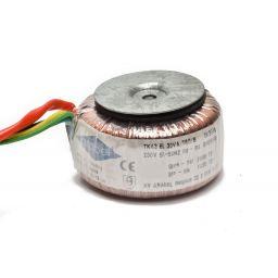 Ringkerntransformator 30VA 2x15V 1A
