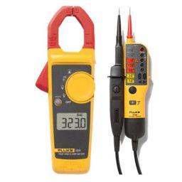 Set met fluke 323 en T110: de perfecte starterset voor elektrotechnische toepassingen