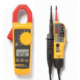 Set met fluke 325 en T130: de perfecte starterset voor elektrotechnische toepassingen