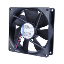 Fan 12Vdc 92x92x25mm *** PAPST 3412N/2GLLE 3-draads