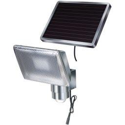 Ledspot voor buiten met bewegingsmelder en zonnepaneel -IP44