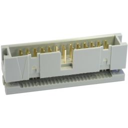 40-polige IDC box-header voor flatcable - P2,54