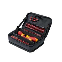 Wiha Tool set slimVario® Electric - 31 stuks - In hoogwaardige etui