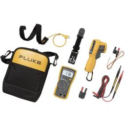 Kit met FLUKE-116 HVAC multimeter en IR thermometer