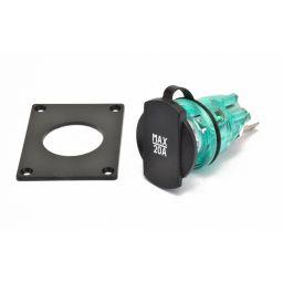 Vermogen socket 20A met montageplaat