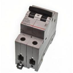 Sokkelautomaat RX3 2P 20A C16 - LEGRAND