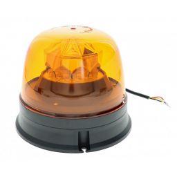 LED zwaailamp oranje voor vlakke montage