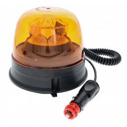 LED zwaailamp oranje - Magnetische bevestiging & stekker voor sigarettenaansteker
