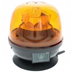 LED zwaailamp oranje - Batterij - zonder draad