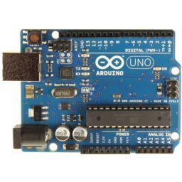 Arduino UNO RV3 programmeerbord.