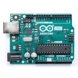 Arduino UNO R3 programmeerbord.