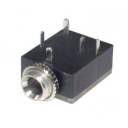 3,5mm Stereo Chassis Vrouwelijk - Printmodel - Met switch