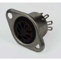 7-polige DIN connector - *** Vrouwelijk - Chassismontage