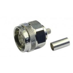 N-connector - Man - Krimpuitvoering  - RG-223/U