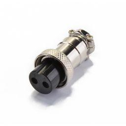 2-polige CB DIN Stekker - Vrouwelijk - Kabelmontage