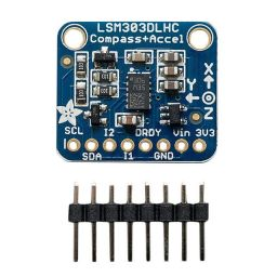 Triple axis accelerometer + magnetometer (compass) Board LSM303