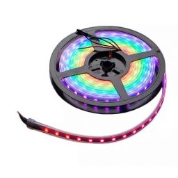 Adafruit NeoPixel RGB ledstrip 60 LED - 1m - Witte PCB