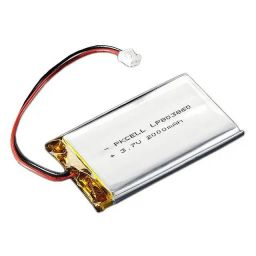 Lithium Ion polymer battery 3,7V 2000mAh