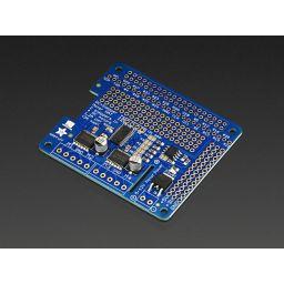 Adafruit DC & Stepper motor HAT for Raspberry Pi A+/B+/2B /3B Mini kit
